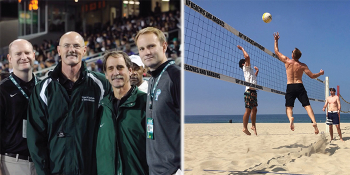 When hes not on duty for the Florida Marlins or attending to his practice in Jupiter Van Sice keeps busy by playing beach volleyball or taking the time to pay a visit to his fellow colleagues at Tulane Universityand attend a game or two in the process of course