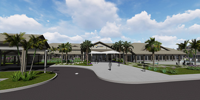 Next Step Ministry Center for Calvary Church Begins Construction in Jupiter Florida