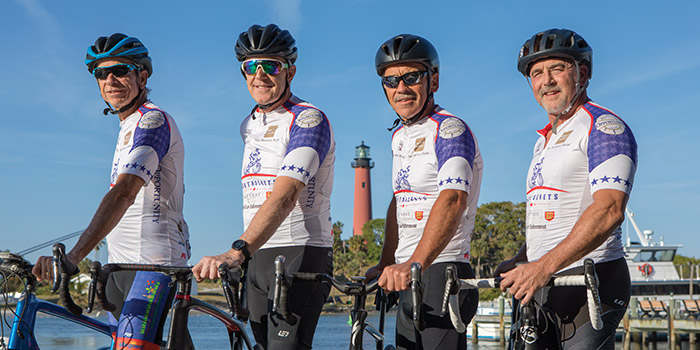 Jupiter FL Bikers to Race Across America for a Good Cause