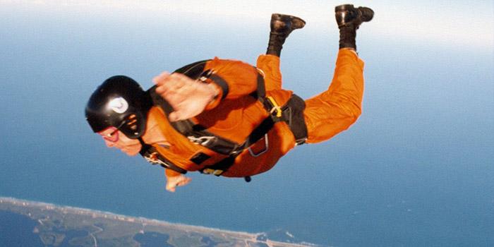 Jupiter FL Skydiver Paul Herrick