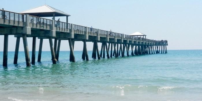 The Juno Beach Pier