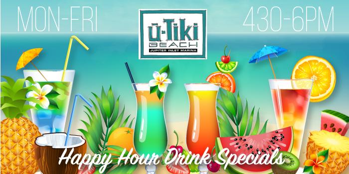 U-Tiki Happy Hour