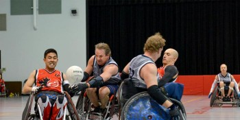 Knock & Roll Wheelchair Rugby Tournament at the CMAA Therapeutic Recreation Complex
