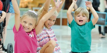 The Gardens Mall Hosts Kids Club Safari Party in Nordstrom Court