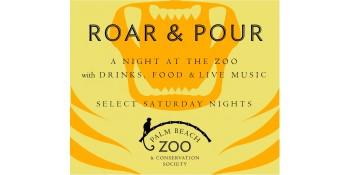 Roar & Pour at Palm Beach Zoo
