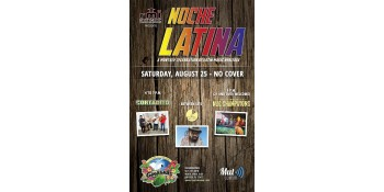 """Noche Latina"" Returns to Guanabanas August 25 with Cortadito, the Nag Champayons and DJ Ephniko"