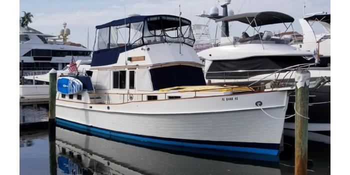 1987 42' Grand Banks 42 Motoryacht for Sale - SYS Yacht Sales