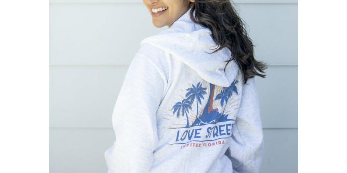 Love Street Hoodie from Charlie & Joe's at Love Street Jupiter, FL
