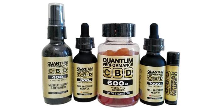 Marc Siegel CBD Quantum Performance products