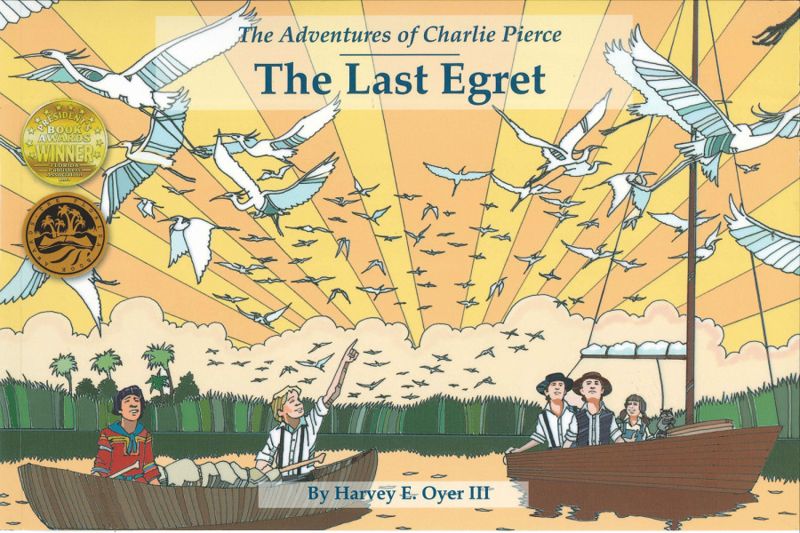 """piter Inlet Lighthouse & Museum and author Harvey Oyer III join to bring Florida history into South Florida schools virtual classrooms with new, original videos based on children's book series: """"The Adventures of Charlie Pierce"""""""