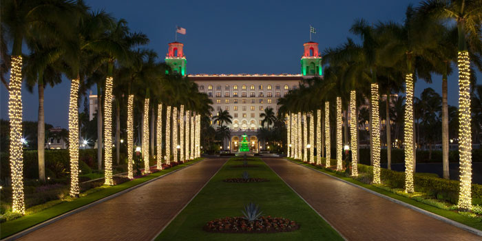 The Breakers Palm Beach Undergoes a Festive Transformation for the Holiday Season