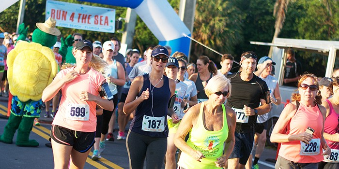 Run 4 The Sea in Juno Beach