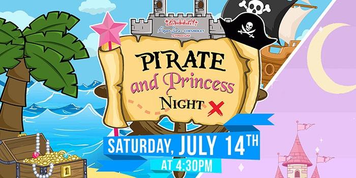 Roger Dean Chevrolet Stadium's Pirate & Princess Night to Benefit Little Smiles