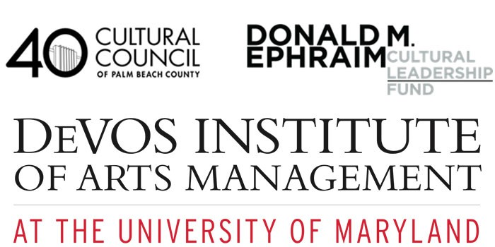 Cultural Council Of Palm Beach County and The Devos Institute Join Teams to Provide Free Training and Consultation Programs