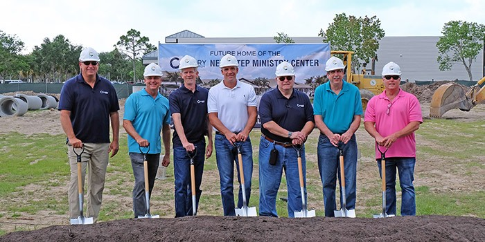 Calvary Church Breaks Ground on New Next Step Ministry Center