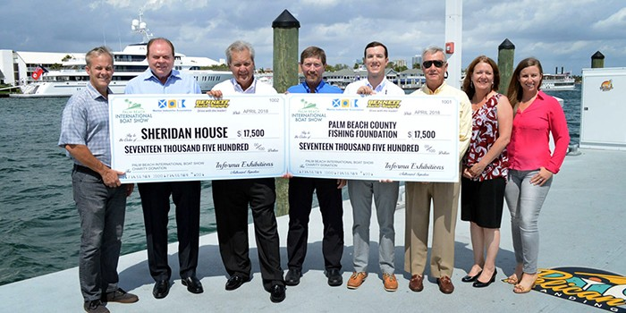 Palm Beach International Boat Show Charitable Campaign with Bennett Auto Supply Raises More Than $35,000