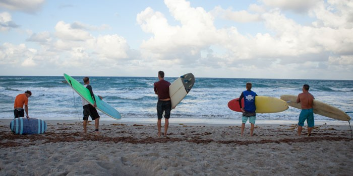 Jupiter Lifeguard Surfing Competition Held at Ocean Cay Park