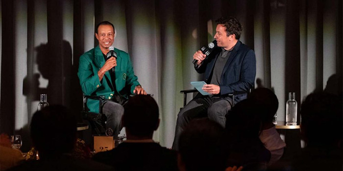 Jupiter's Own Tiger Woods Goes Unplugged With Jimmy Fallon