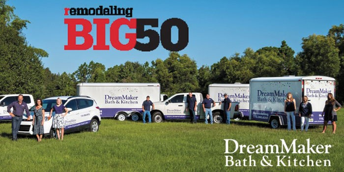 DreamMaker Bath & Kitchen of SE Florida Joins REMODELING Big 50 List in REMODELING Magazine