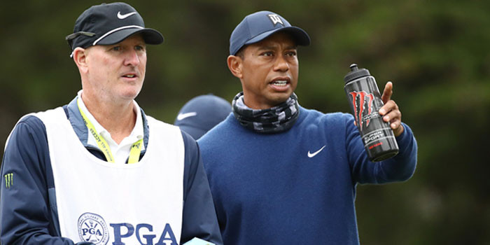 Monster Hydro Super Sport Fuels Tiger Woods For Masters Week