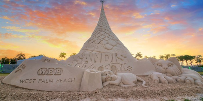 CITY OF WEST PALM BEACH'S FAMED HOLIDAY SAND TREE RETURNS NOVEMBER 29, 2018
