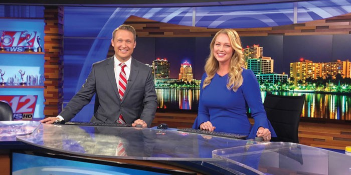 CBS12 Welcomes Matt Lincoln & Ashley Glass to the Morning News Team