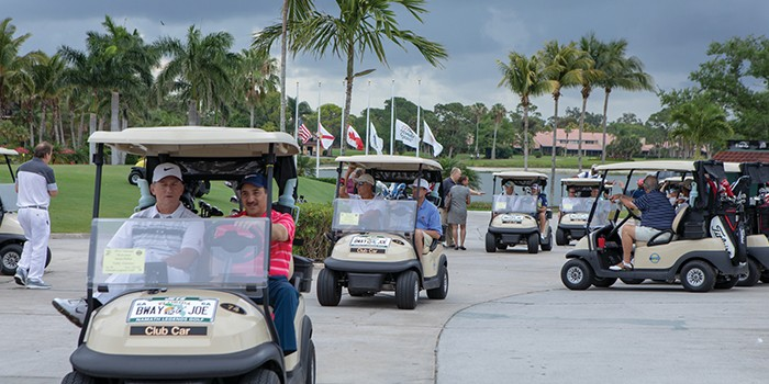 Celebrities and Sports Figures Unite For Namath Legends Golf Florida