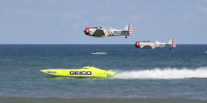 The GEICO Skytypers Air Show Team is Ready for Takeoff!