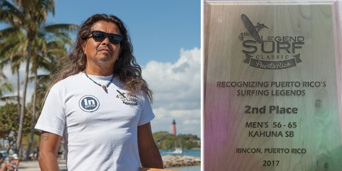 Local Surfer Wins 'Kahuna Award' in Puerto Rico