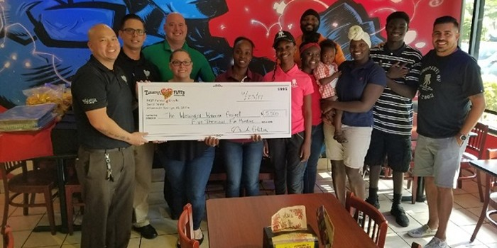 Tijuana Flats Donates Evening of Fun and Food to Veterans