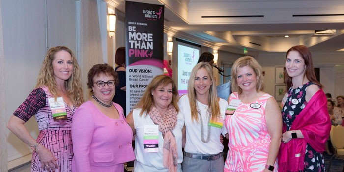 Power In Pink Honors Raises Money Setting the Stage For Susan G. Komen Success