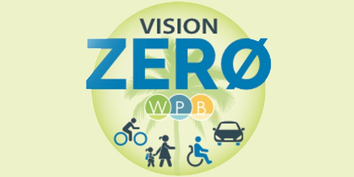 With the Goal of Safer Roads, City of West Palm Beach to Host First Public Vision Zero Event