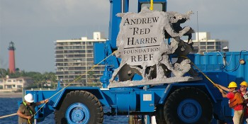 "ENGEL Helps Fund the Andrew ""Red"" Harris Foundation's Reef Restoration and Artificial Reef Deployment"