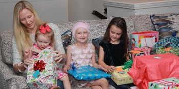 Local Community Foundation Holiday Gift to a Young Girl Battling Childhood Cancer
