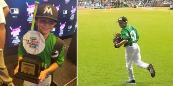 Jupiter Little Leaguer Takes First Place at Major League Baseball's Pitch Youth Skill Competition