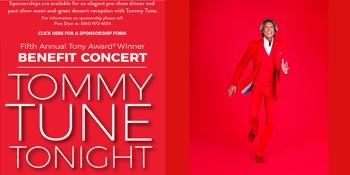 Legendary Tommy Tune To Headline Benefit Concert at Maltz Jupiter Theatre