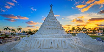 What the City of West Palm Beach Lacks in Snow, it Makes Up for with 600-Tons of Sand