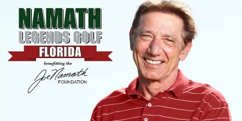 Namath Legends Golf Florida Tournament To Benefit the Joe Namath Foundation