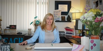 A Meeting with Jupiter High School's Principal Dr. Colleen Iannitti