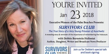 Author and MSNBC Producer Debbie Bornstein Holinstat Shares Her Family's Holocaust Survival, Secrets at EWPB Lunch