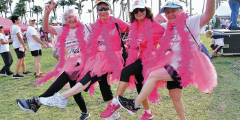 Susan G. Komen South Florida Lights Up Palm Beach County with Downtowns Go Pink!