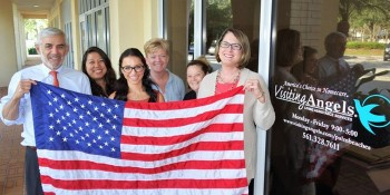 Visiting Angels of the Palm Beaches Receives 2017 Small Business of the Year Award