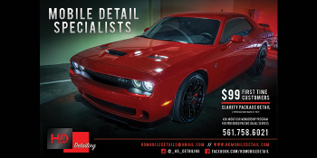 HD Detailing $99 First Time Customer Special